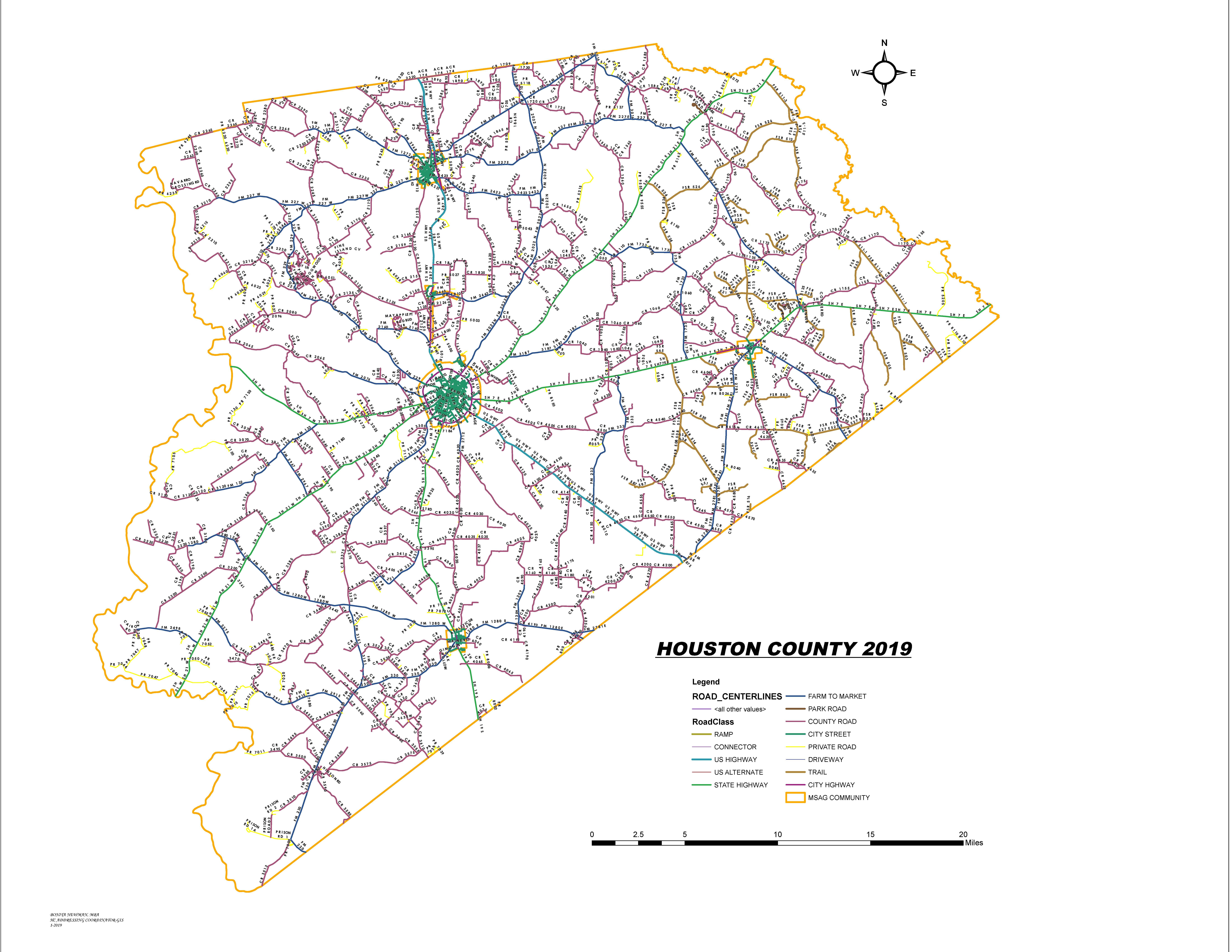 Houston County Texas